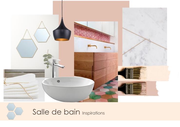 Planche ambiance salle de bain