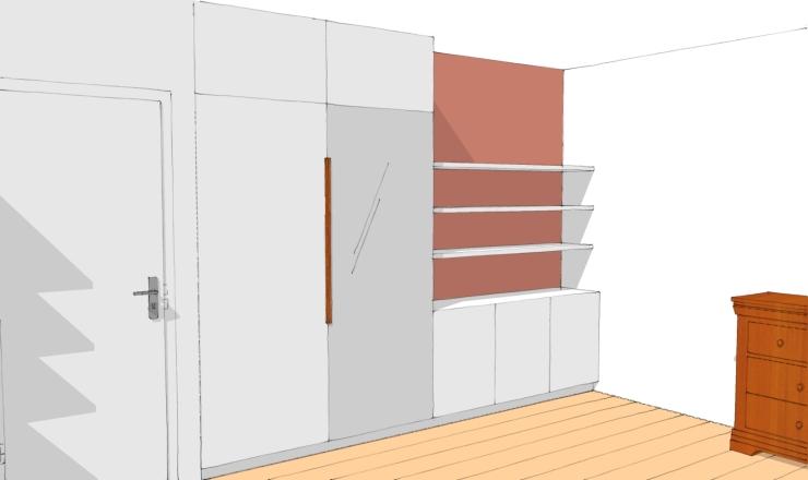 3D image virtuelle chambre 1